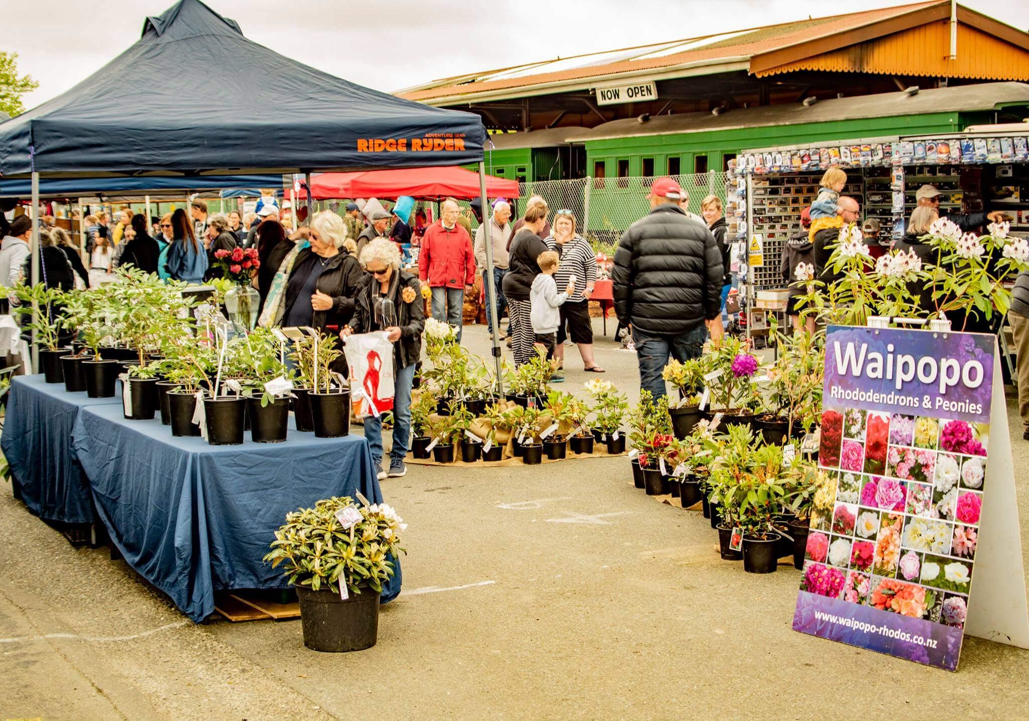 Market & Garden stalls