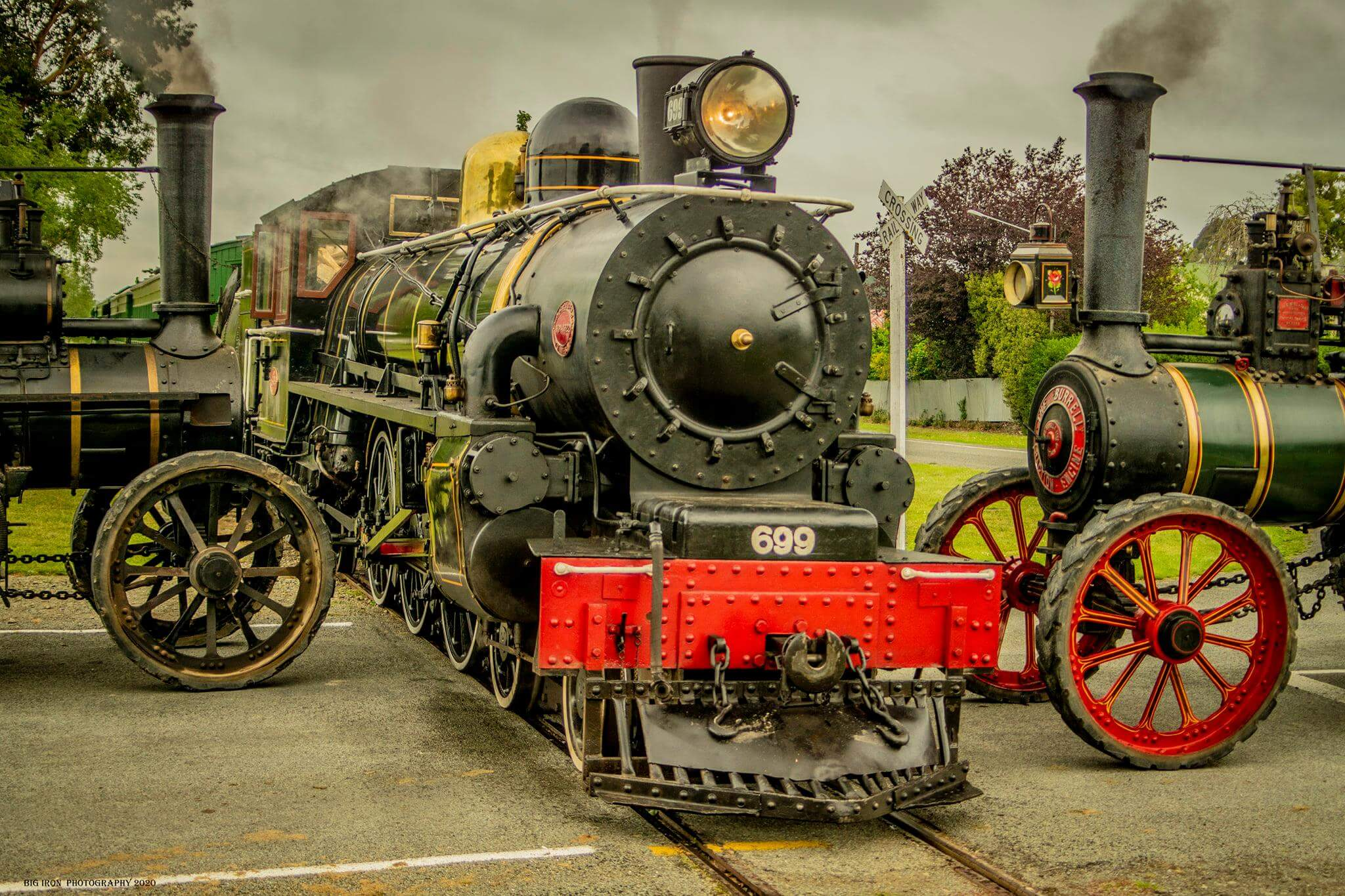 Traction & Steam train rides